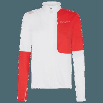 Vibe Jacket Women White/Hibiscus