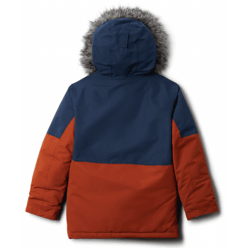 Nordic Strider™ Jacket Boys Dark Adobe, Collegiate Navy 885