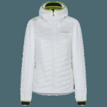 Misty Primaloft Jacket Women White/Jasmine Green