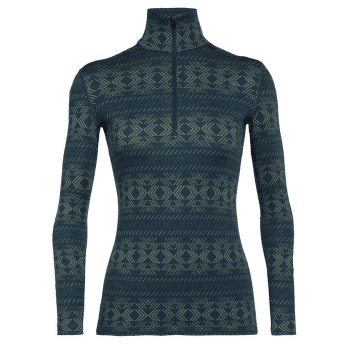 Vertex LS Half Zip Cristalline Women NIGHTFALL