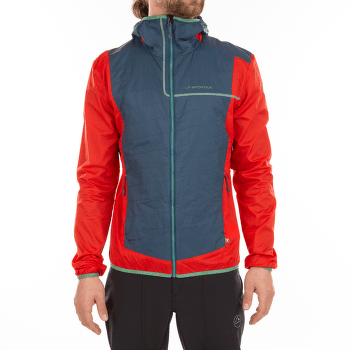 Zeal Jacket Men Opal/Poppy