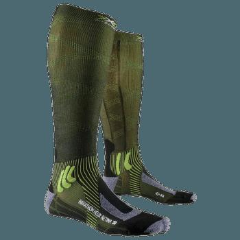 X-SOCKS ® Marathon Helix Retina 4.0 Black/Green