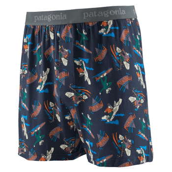 Essential Boxers Men Mr. Badger: New Navy