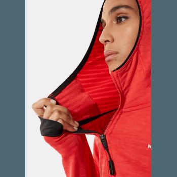 Circadian Midlayer Hoodie Women Horizon Red Heather