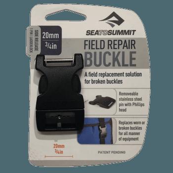 Buckle 20 mm side release 1 PIN Black