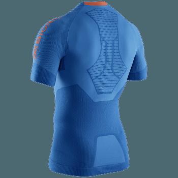 Regulator Run Speed Shirt SH SL Men TEAL BLUE/KURKUMA ORANGE