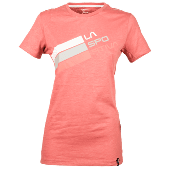 Stripe Logo T-Shirt Women Cipria