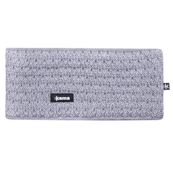 C36 Knitted Headband Grey