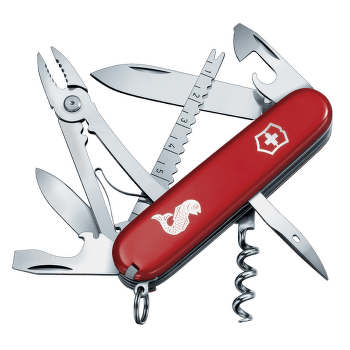 Swiss Army Knife Angler Red