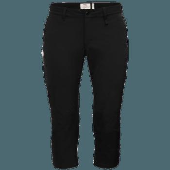 Abisko Capri Trousers Women Black