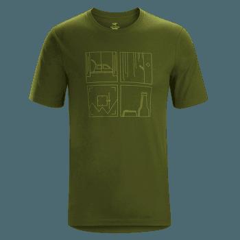 Quadrants T-Shirt SS Men Bushwhack