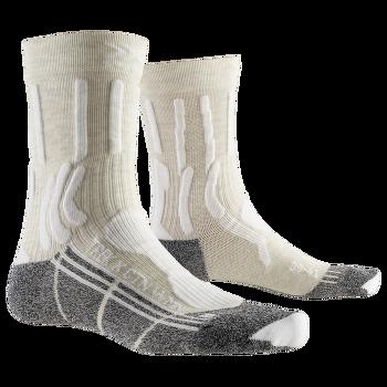 Trek X Cotton Socks Women White/Anthracite