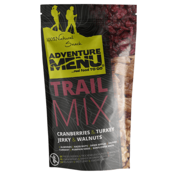 Trail mix krůtí maso, vlašské ořechy, brusinky 50 g