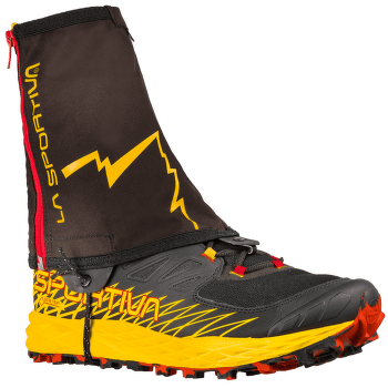 Winter Running Gaiter Black/Yellow 999100