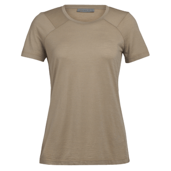 Nature Dye Galen SS Crewe Women ALMOND