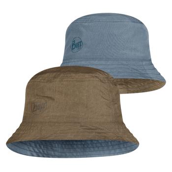 TRAVEL BUCKET HAT ZADOK BLUE-OLIVE BLUE-OLIVE