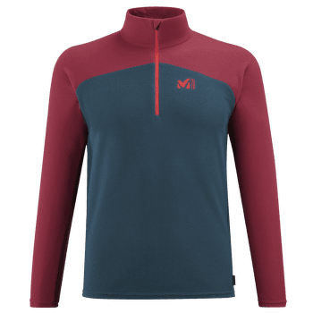 K Lightgrid Pullover Men ORION BLUE/TIBETAN RED