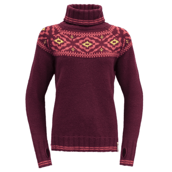 Ona Round Sweater Women 740A Beetroot