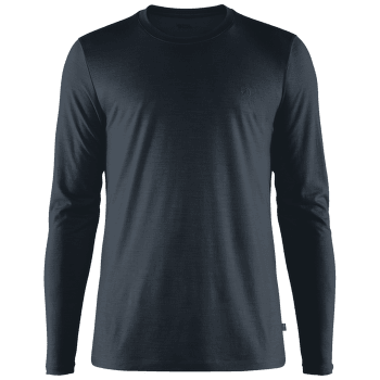 Abisko Wool LS Men Dark Navy