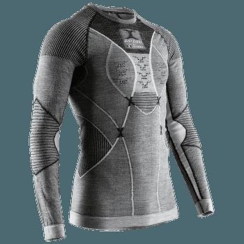 APANI® 4.0 Merino Shirt Round Neck Men Black/Grey/White