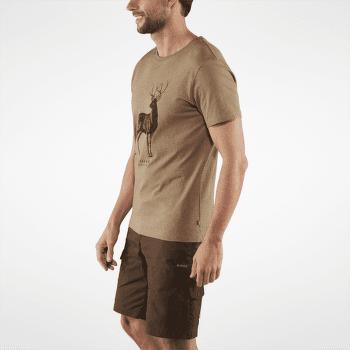 Deer Print T-shirt Men Tarmac