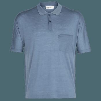 Cool-Lite SS Polo Men GRANITE BLUE