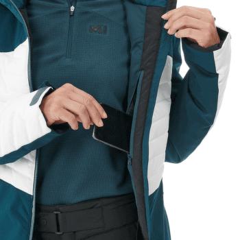 Engadin Jacket Women ORION BLUE/MOON WHITE