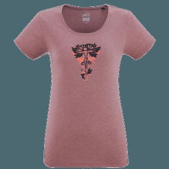 FRIENDS 2 T-Shirt SS Women H ROSE BROWN