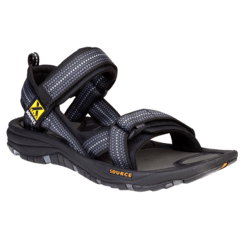 Gobi Sandals Men (102021) Chess Black