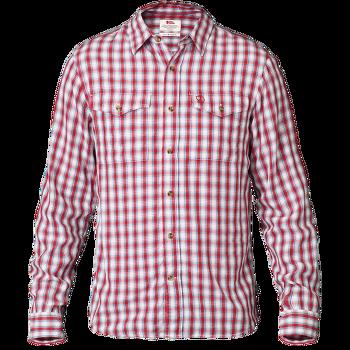 Abisko Cool Shirt LS Men Red