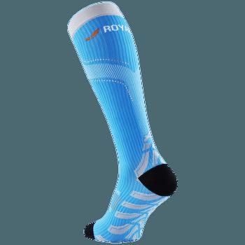 ROYAL BAY® Neon kompresní podkolenky 5099 Modrá