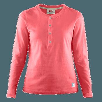Greenland Buttoned LS Women Peach Pink