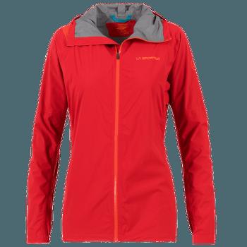 Run Jacket Women Garnet