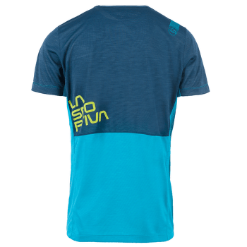 Crunch T-Shirt Men Tropic Blue/Opal