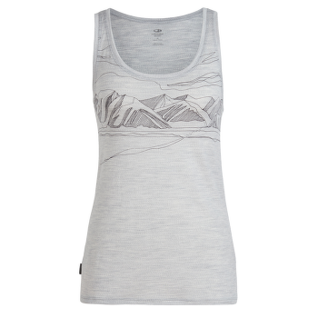 Tech Lite Tank Coronet Peak Women Blizzard HTHR