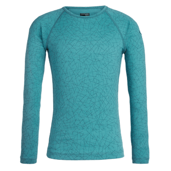 Oasis LS Crewe Sky Paths Kid ARCTIC TEAL