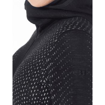 Elemental LS Zip Hood Women Black
