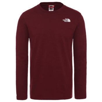 Easy Tee L/S Men DEEP GARNET RED