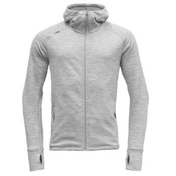 Nibba Jacket Men Grey Melange