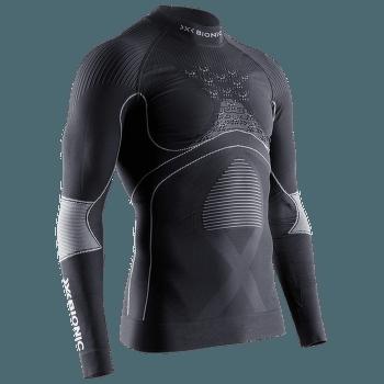 Energy Accumulator 4.0 Shirt Turtle Neck Men Charcoal/Pearl Grey