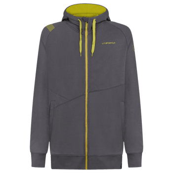 Chilam Hoody Men Carbon/Kiwi
