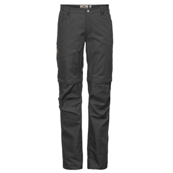 Daloa Shade Zip-Off Trousers Women Dark Grey 30