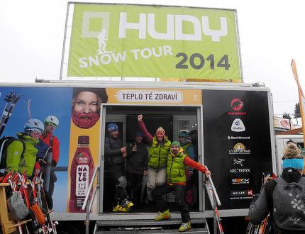 Jaká byla HUDY SNOW TOUR 2014?