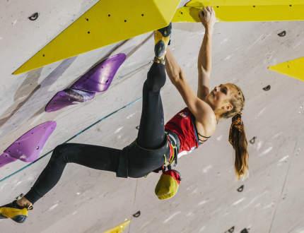 SP v lezení na obtížnost 2021 očima vítězky Elišky Adamovské