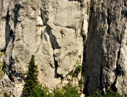 Peilstein: parádní lezení nedaleko Vídně