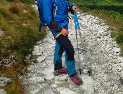 Test všestranných kalhot Direct Alpine Mountainer Tech