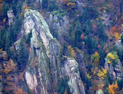 Podzimní lezení v Jizerkách