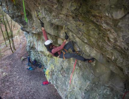 Drytooling – zimní lezecké radovánky