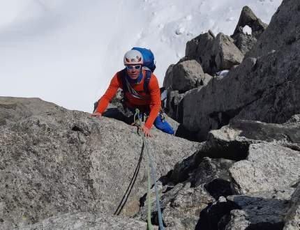 Liduprázdný masiv Mont Blancu