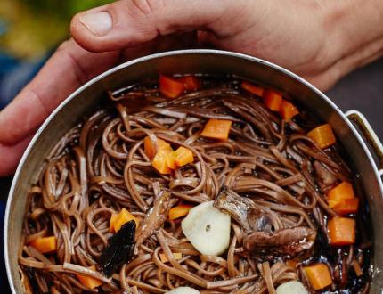 Vaření na treku aneb jak nakrmit tělo i duši